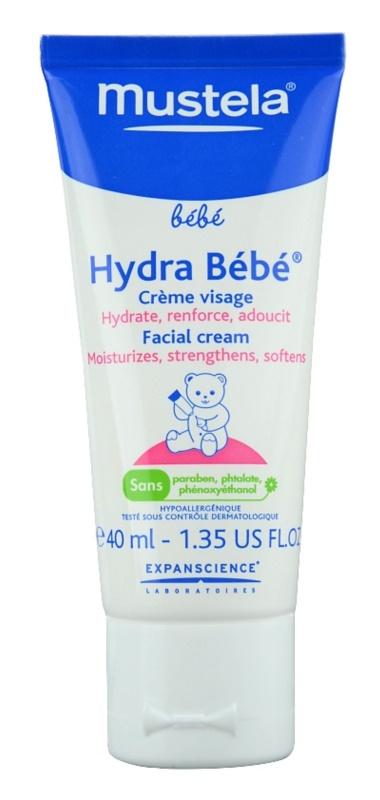 Mustela Bébé Hydra Bébé Moisturizing Cream For Face For Children From Birth