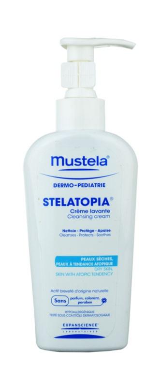 Mustela Dermo-Pédiatrie Stelatopia čisticí krém pro velmi suchou citlivou a atopickou pokožku