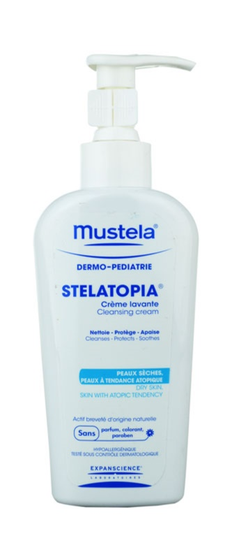 Mustela Dermo-Pédiatrie Stelatopia Cleansing Cream For Very Dry Sensitive And Atopic Skin