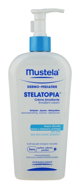 Mustela Dermo-Pédiatrie Stelatopia crema hidratanta pentru piele foarte sensibila sau cu dermatita atopica