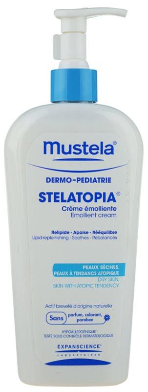 Mustela Dermo-Pédiatrie Stelatopia hydratační krém pro velmi suchou citlivou a atopickou pokožku