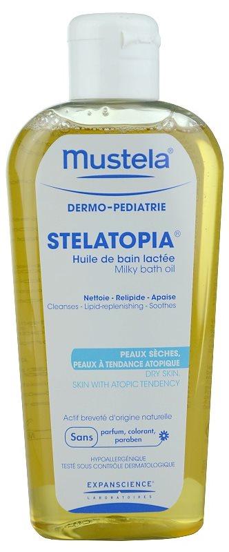 Mustela Dermo-Pédiatrie Stelatopia olje za kopel za zelo občutljivo suho in atopično kožo