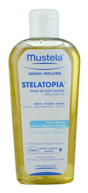 Mustela Dermo-Pédiatrie Stelatopia ulei pentru baie pentru piele foarte sensibila sau cu dermatita atopica