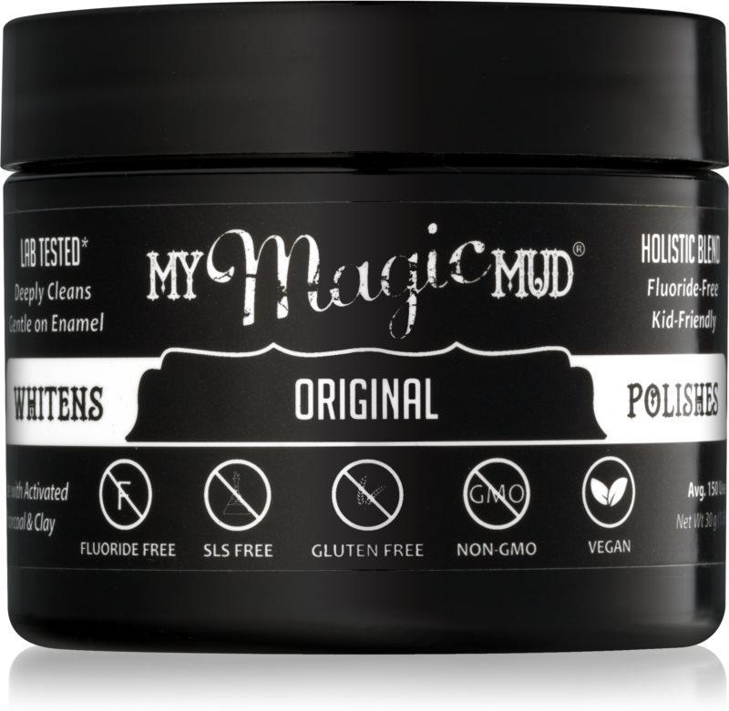 My Magic Mud Activated Charcoal bělicí zubní pudr s aktivním uhlím