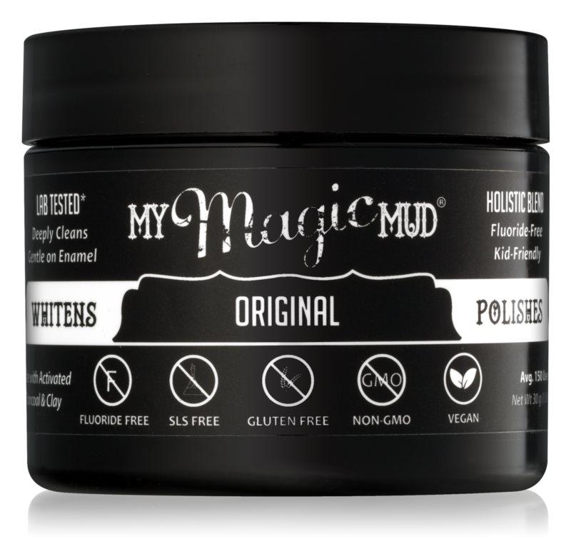 My Magic Mud Activated Charcoal Zahnpuder mit Aktivkohle für weißere Zähne