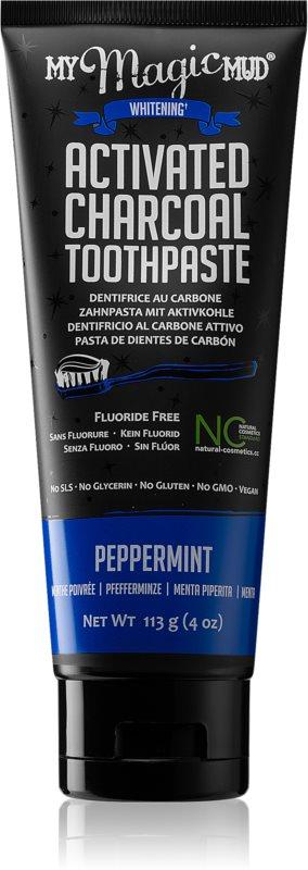 My Magic Mud Activated Charcoal bleichende Zahnpasta mit Aktivkohle