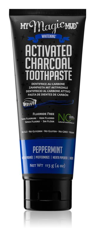 My Magic Mud Activated Charcoal wybielająca pasta do zębów z aktywnym węglem