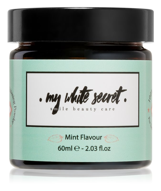 My White Secret Whitening Powder poudre dentaire blanchissante pour dents sensibles