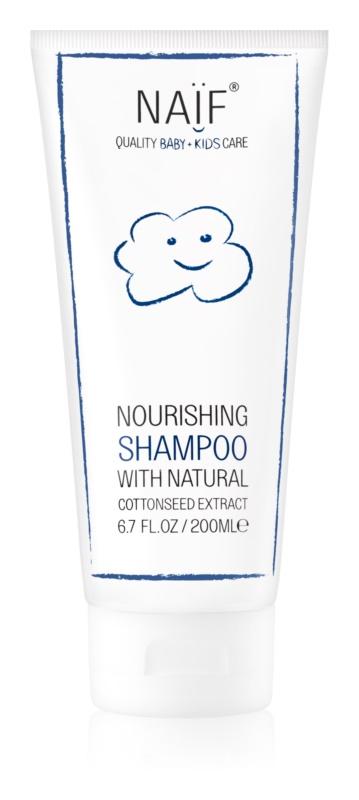 Naif Baby & Kids výživný šampón pre detskú pokožku hlavy