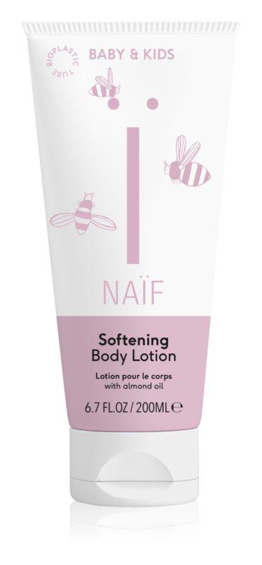 Naif Baby & Kids zjemňující tělové mléko pro děti