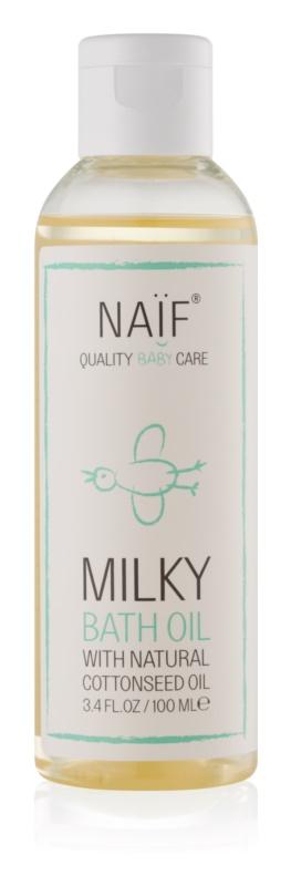 Naif Baby & Kids mléčný koupelový olej pro děti od narození