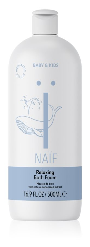 Naif Baby & Kids relaxačná pena do kúpeľa