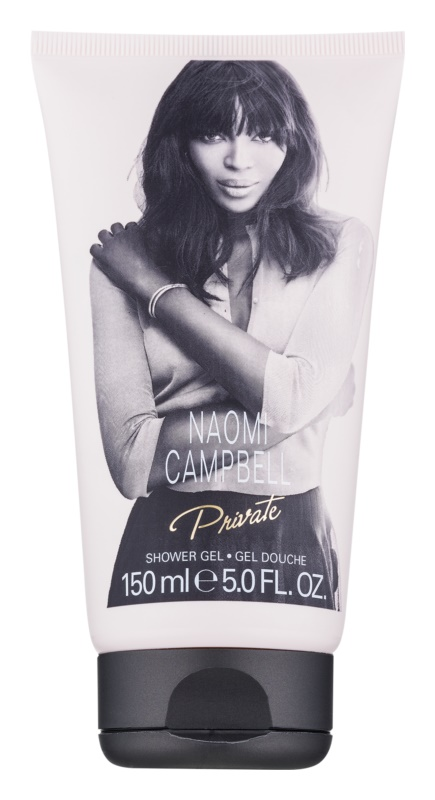 Naomi Campbell Private gel de duche para mulheres 150 ml