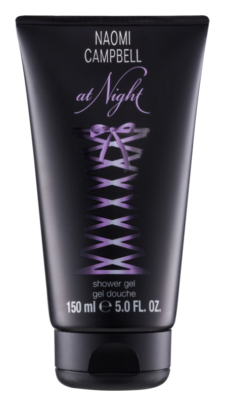 Naomi Campbell At Night gel douche pour femme 150 ml