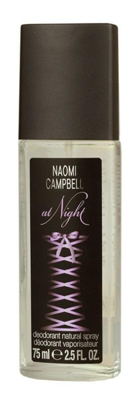Naomi Campbell At Night déodorant avec vaporisateur pour femme 75 ml