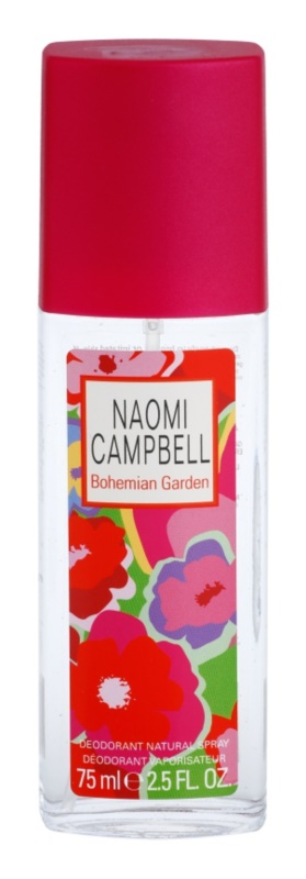 Naomi Campbell Bohemian Garden deodorant s rozprašovačem pro ženy 75 ml