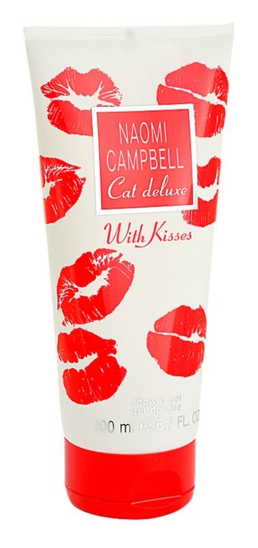 Naomi Campbell Cat Deluxe With Kisses gel de dus pentru femei 200 ml