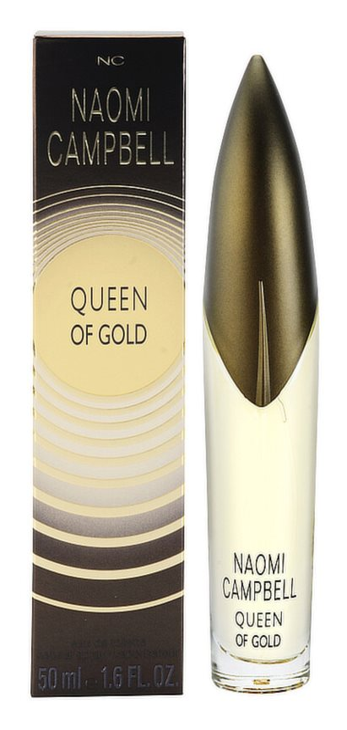 Naomi Campbell Queen of Gold eau de toilette pour femme 50 ml
