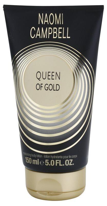 Naomi Campbell Queen of Gold tělové mléko pro ženy 150 ml