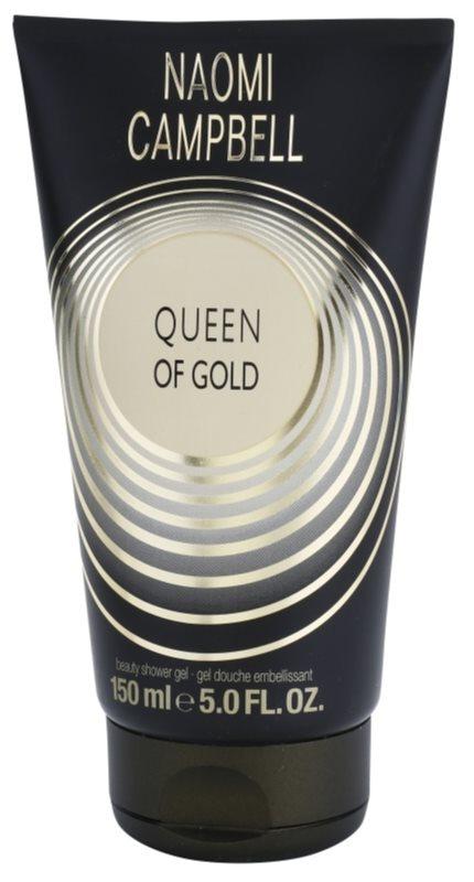 Naomi Campbell Queen of Gold gel de dus pentru femei 150 ml