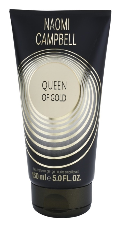Naomi Campbell Queen of Gold gel doccia per donna 150 ml