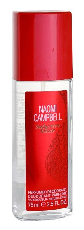 Naomi Campbell Seductive Elixir deodorant s rozprašovačem pro ženy 75 ml