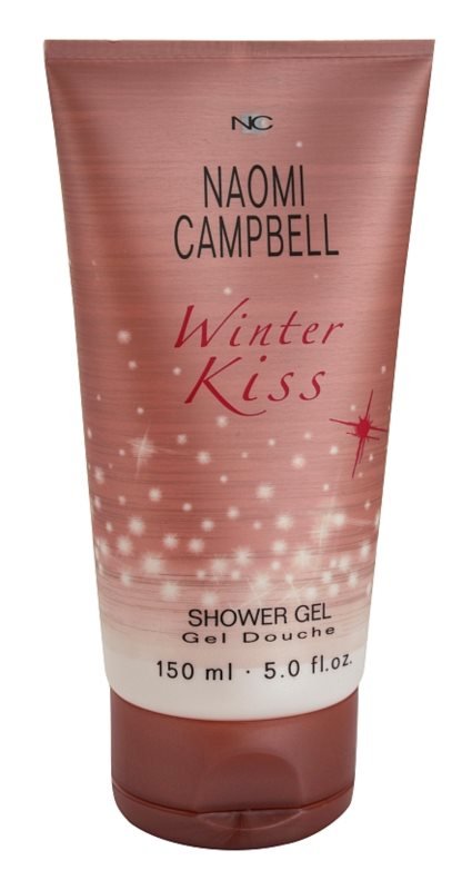 Naomi Campbell Winter Kiss gel douche pour femme 150 ml