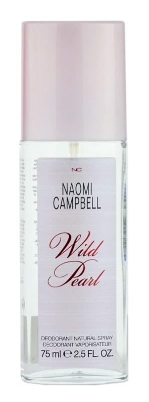 Naomi Campbell Wild Pearl deodorant s rozprašovačom pre ženy 75 ml