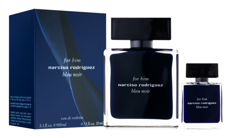 Narciso Rodriguez For Him Bleu Noir zestaw upominkowy I.