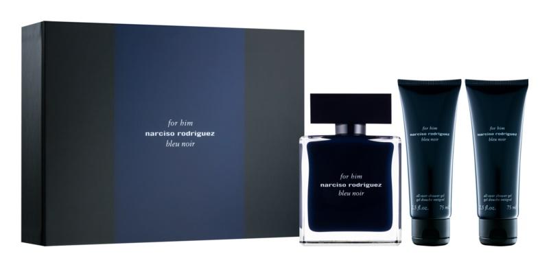 Narciso Rodriguez For Him Bleu Noir dárková sada III.