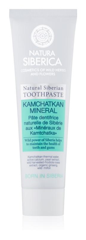 Natura Siberica Kamchatkan Mineral natürliche Zahncreme