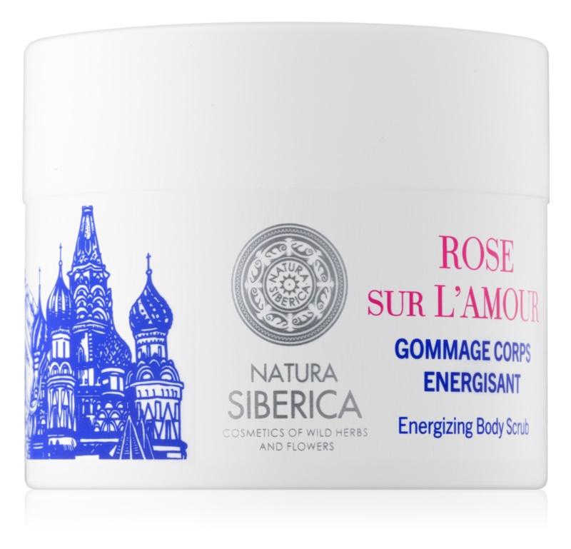 Natura Siberica Mon Amour energizující tělový peeling