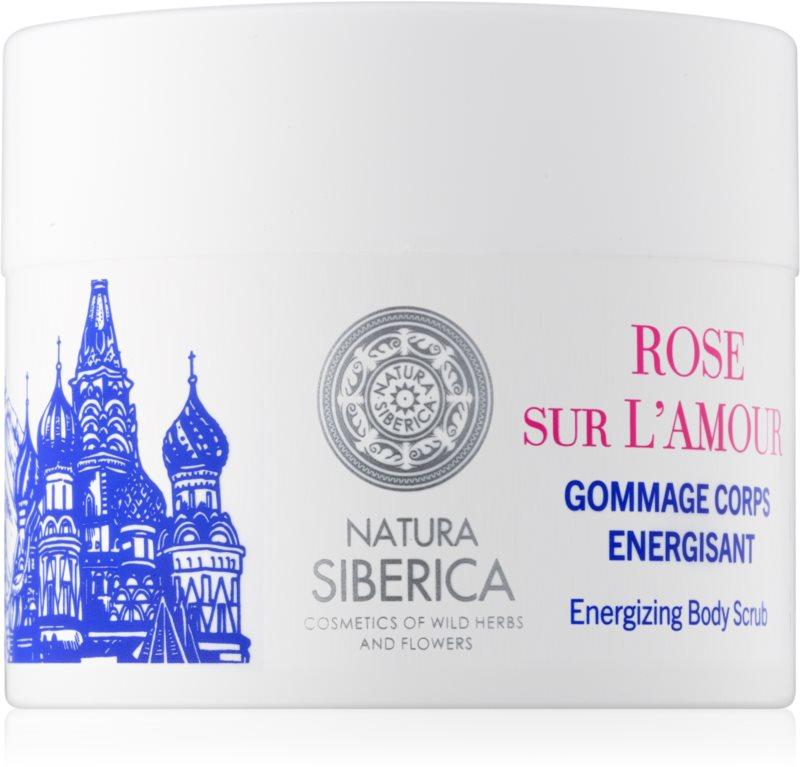 Natura Siberica Mon Amour energizujúci telový peeling