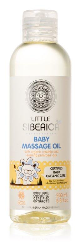 Natura Siberica Little Siberica масажна олія для дітей