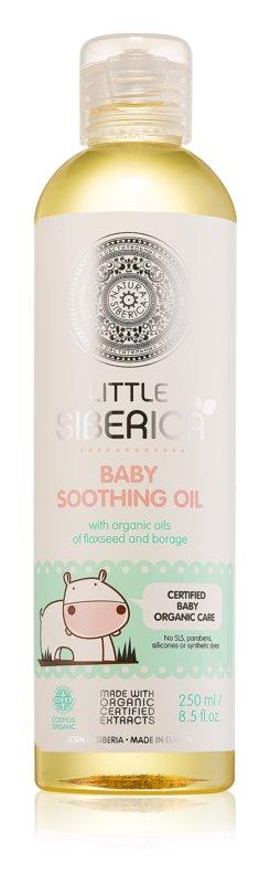 Natura Siberica Little Siberica upokojujúci olej pre deti od narodenia