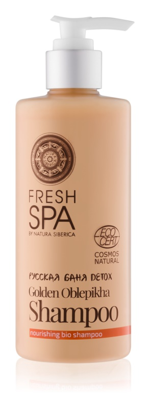 Natura Siberica Fresh Spa Golden Oblepikha поживний шампунь
