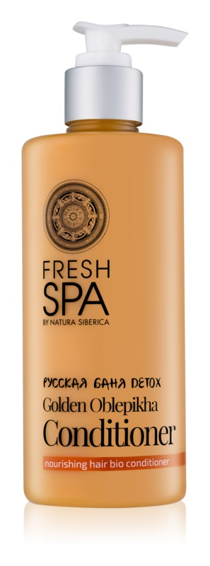 Natura Siberica Fresh Spa Golden Oblepikha kondicionér pre suché a poškodené vlasy