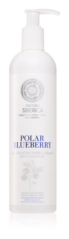 Natura Siberica Copenhagen Polar Blueberry Rejuvenating Shower Gel with Moisturizing Effect