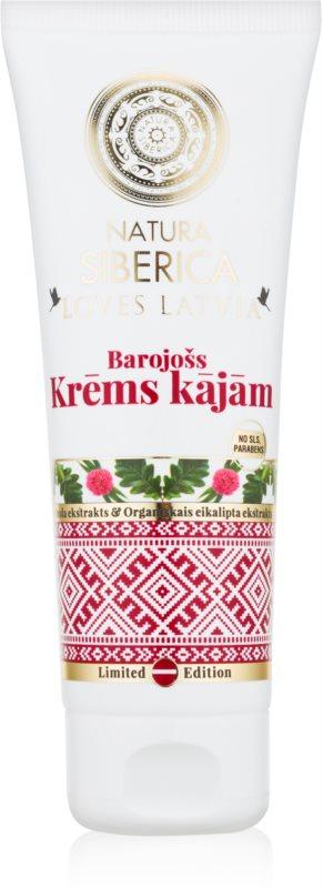Natura Siberica Loves Latvia hranilna krema za noge