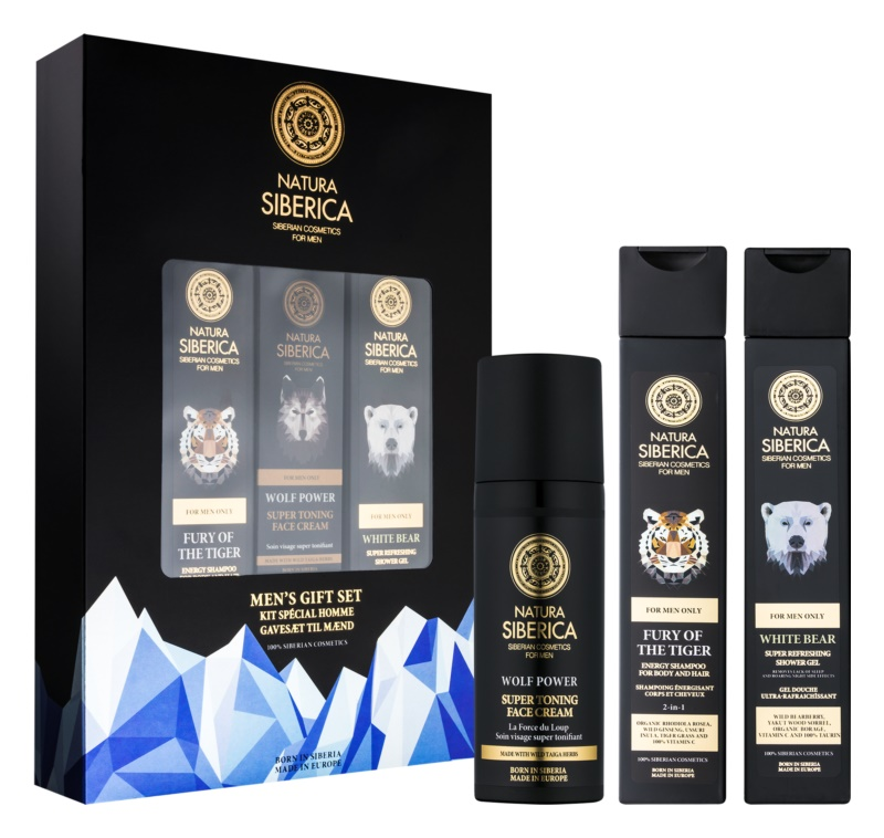 Natura Siberica For Men Only Cosmetic Set I.