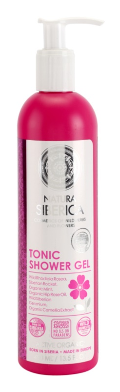 Natura Siberica Active Organics Toning Shower Gel