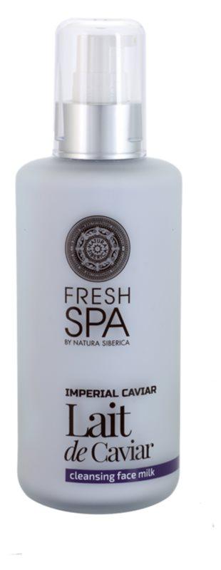 Natura Siberica Fresh Spa Imperial Caviar čisticí pleťové mléko s kaviárem
