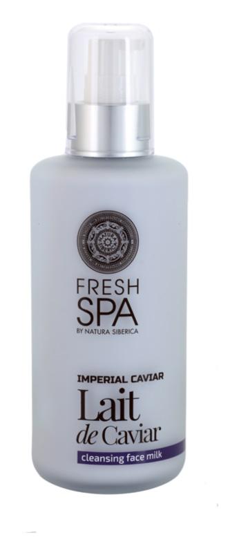 Natura Siberica Fresh Spa Imperial Caviar oczyszczające mleczko do twarzy z kawiorem
