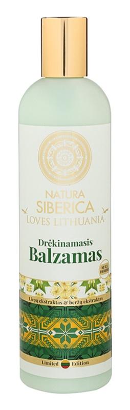 Natura Siberica Loves Lithuania bálsame hidratante para cabelo
