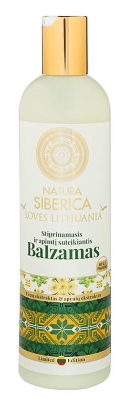 Natura Siberica Loves Lithuania posilující balzám na vlasy