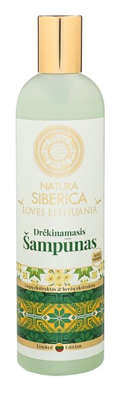 Natura Siberica Loves Lithuania champô hidratante