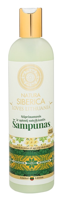 Natura Siberica Loves Lithuania sampon fortifiant