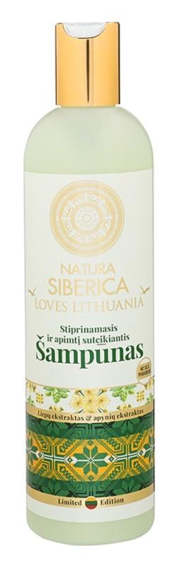 Natura Siberica Loves Lithuania szampon wzmacniający