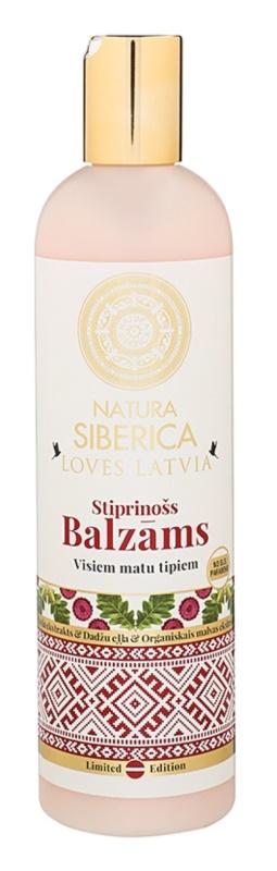Natura Siberica Loves Latvia wzmacniający balsam do włosów