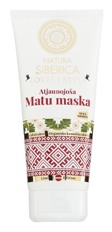 Natura Siberica Loves Latvia erneuernde Maske für das Haar